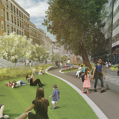 West End Project - LDA Design and Camden Council